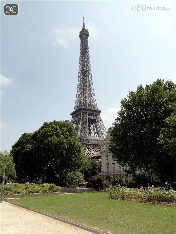Eiffel Tower Viewed From Promenade d'Australie