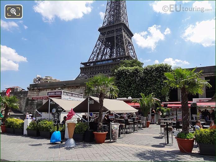 Eiffel Tower And Port de Suffren