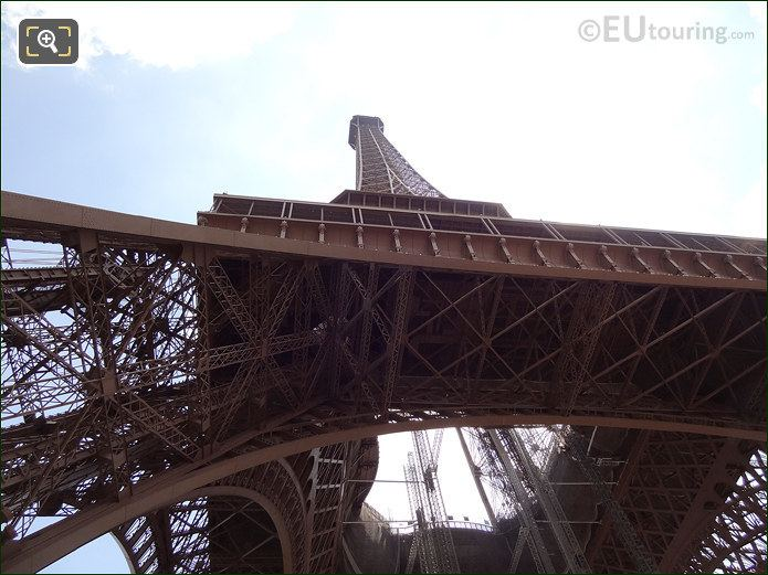 Eiffel Tower Iron Structure