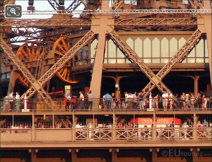 Eiffel Tower Viewing Platforms