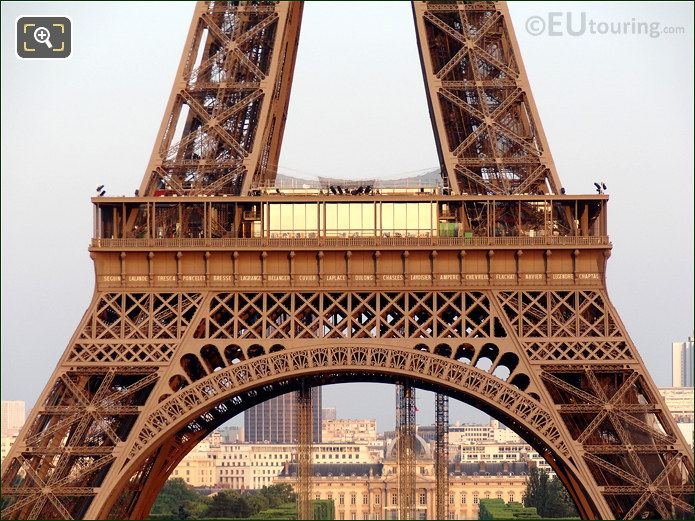 Eiffel Tower First Level