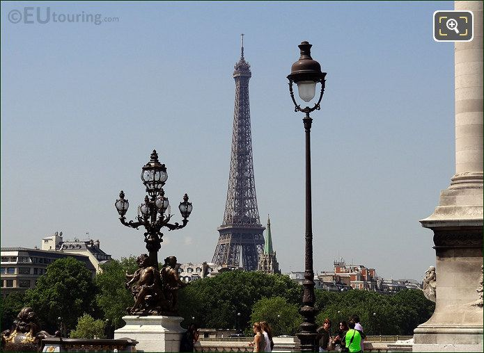 Eiffel Tower And The Pont Alexandre III