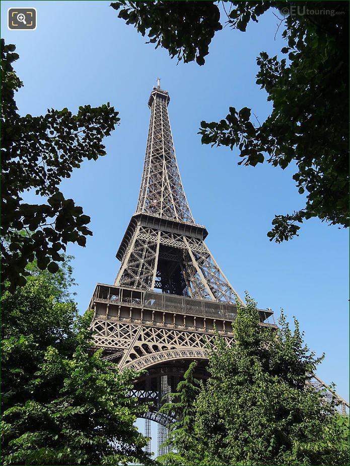 Eiffel Tower NE Facade