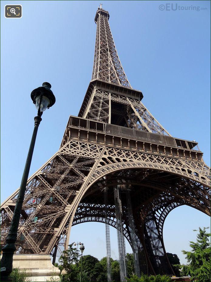 Eiffel Tower From Allee Jean Paulhan