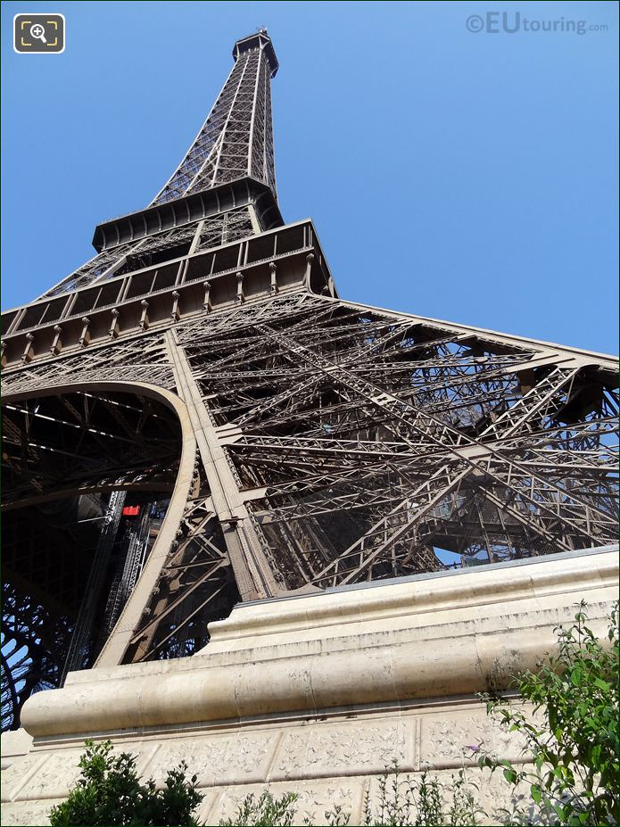 Eiffel Tower Iron Leg