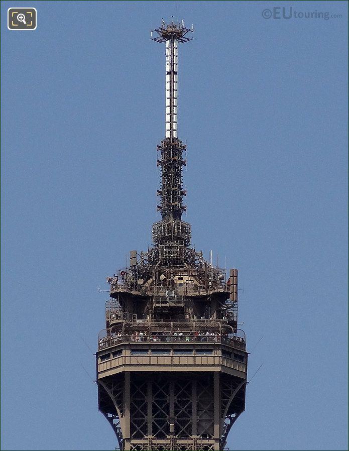 Antennas On The Eiffel Tower