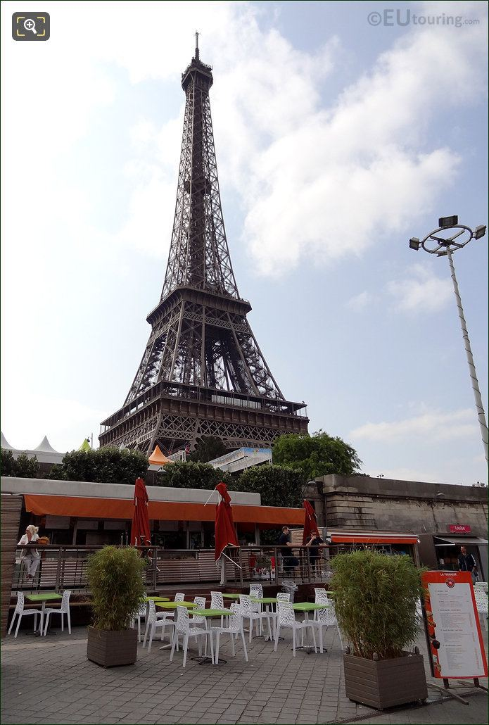 Eiffel Tower And The Port de la Bourdonnais