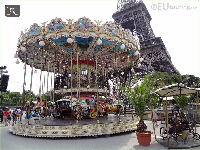 Carrousel At The Eiffel Tower