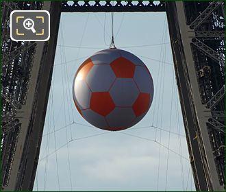 Eiffel Tower Euro Football