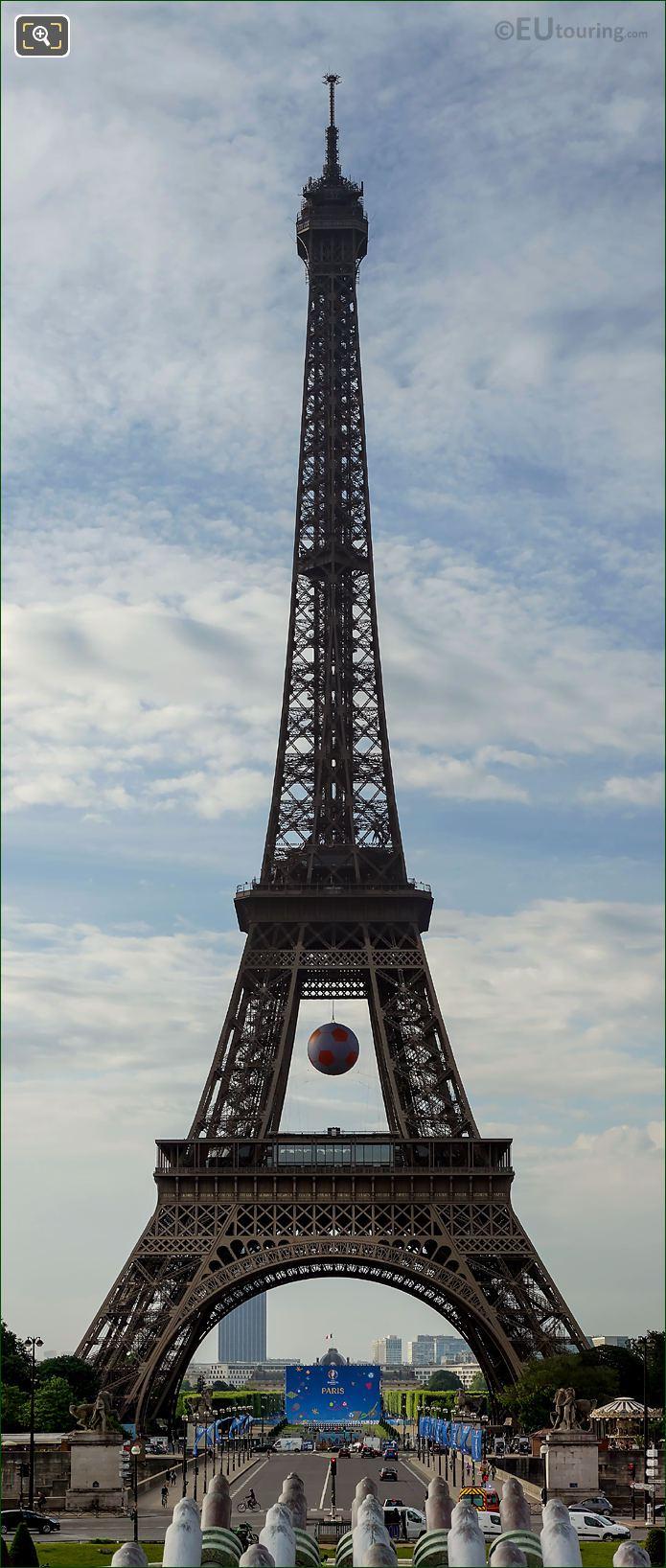 Eiffel Tower Panoramic