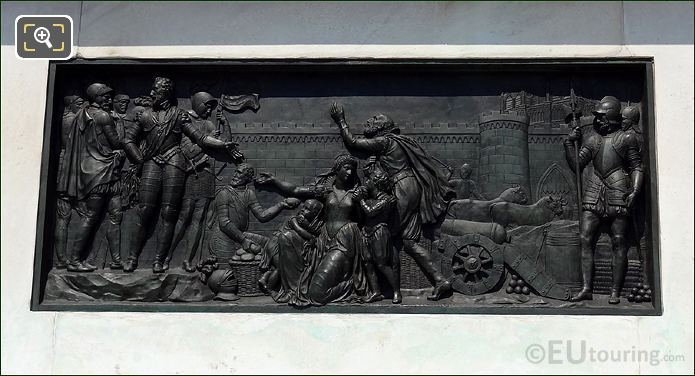 Photo Of Equestrian Statue King Henri IV In Paris