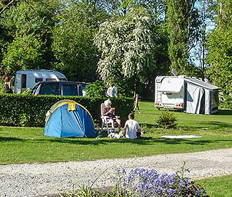 Campsite Near Paris