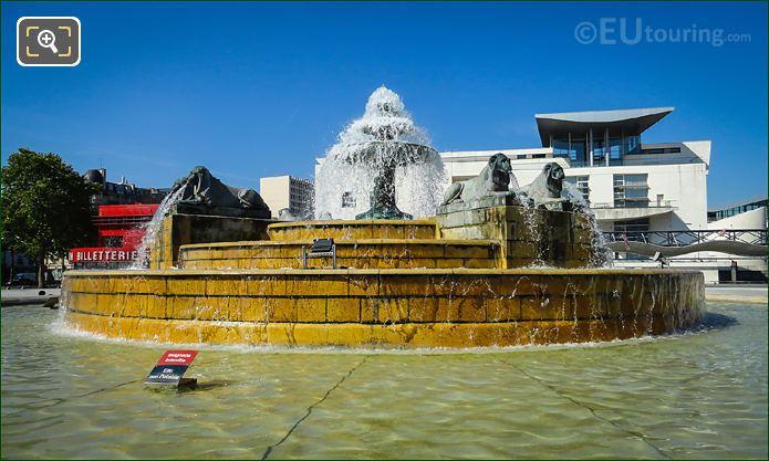Fontaine Aux Lions De Nubie Water Basin