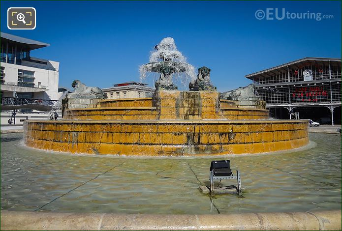 Fontaine Aux Lions De Nubie South East
