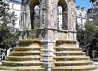 fontaine des innocents chatelet