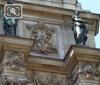 Statues Called Justice And Temperance