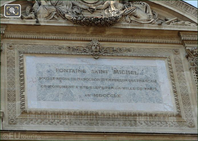 Photo Of Fontaine Saint Michel