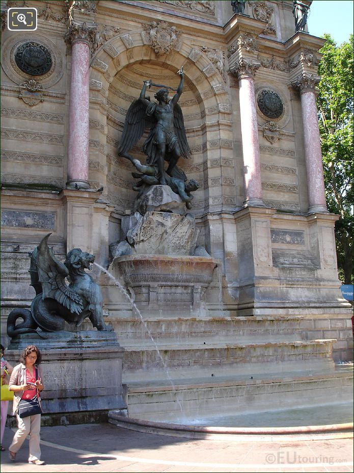 Photo Of Fontaine Saint Michel