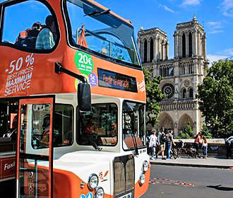 Foxity Bus Tours Paris