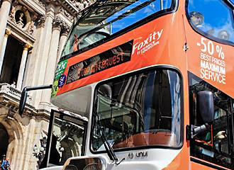 Paris Foxity Bus Tours