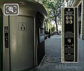 Free Public Toilets In Paris