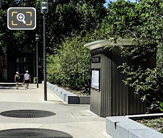 Jardin Nelson Mandela Disabled Freindly Free Public Toilet