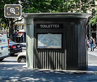 Place De La Bastille Disabled Freindly Free Public Toilet