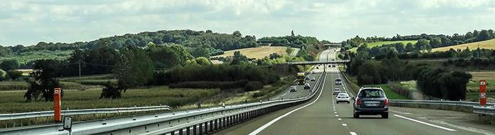 French toll road