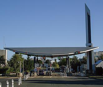 French toll booth