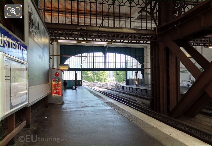 Metro Platform Gare d Austerlitz