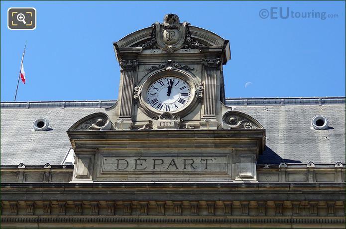 Gare d Austerlitz Clock