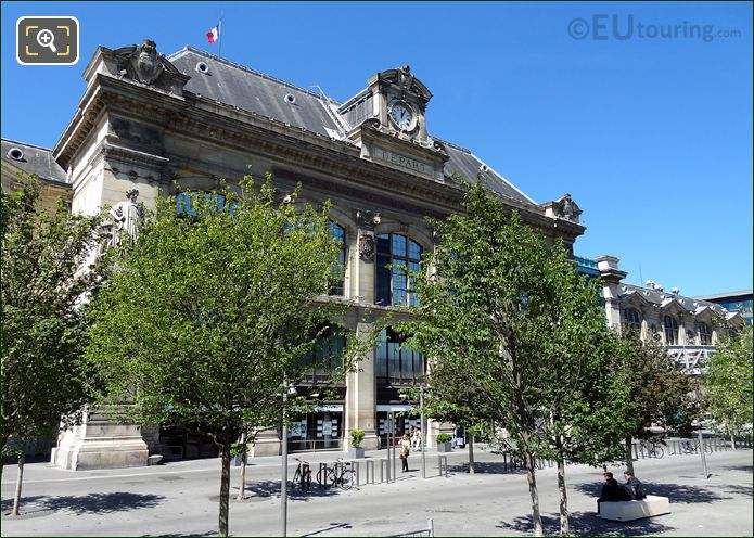 Hd photographs of gare d 39 austerlitz train station in paris for Train tours paris austerlitz