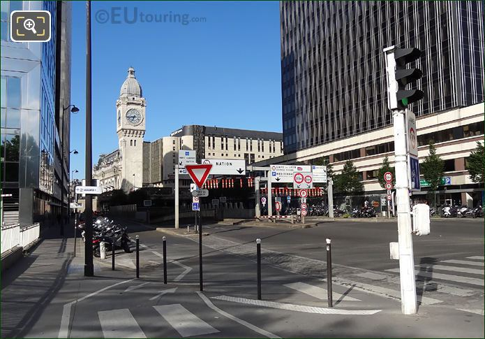 Gare De Lyon And Rue Van Gogh