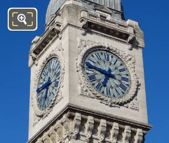 Gare De Lyon Clock Tower