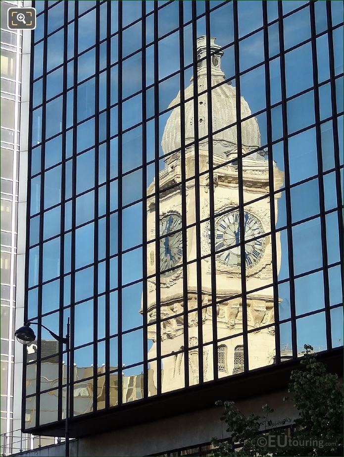 Gare De Lyon Reflection
