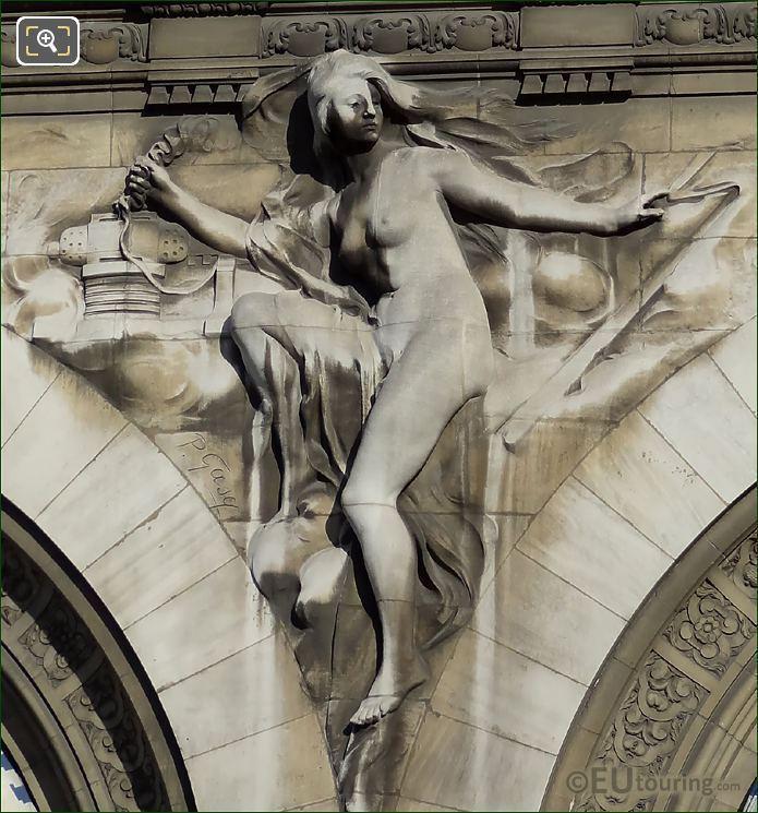 Gare De Lyon Sculpture l Electricite