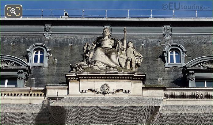 Gare De Lyon City Of Marseille Sculpture