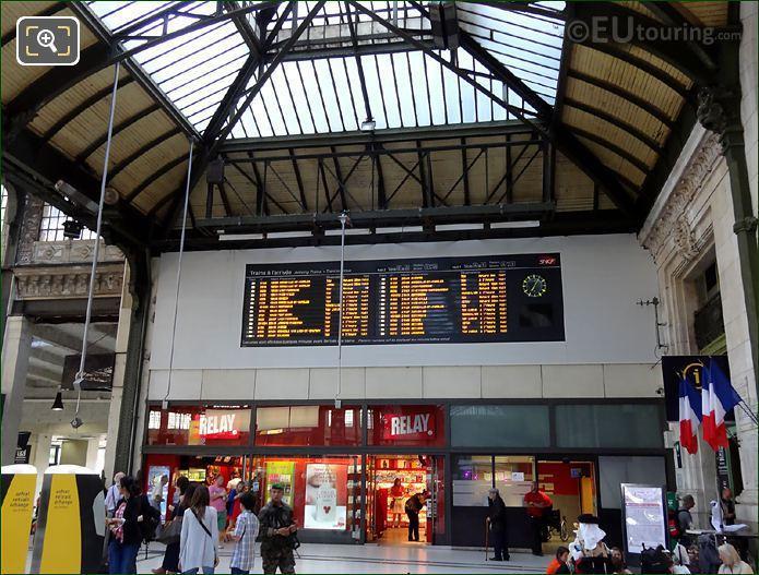 Gare De Lyon Electronic Board