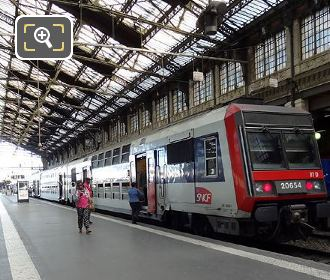 Gare De Lyon Train ZB 20654