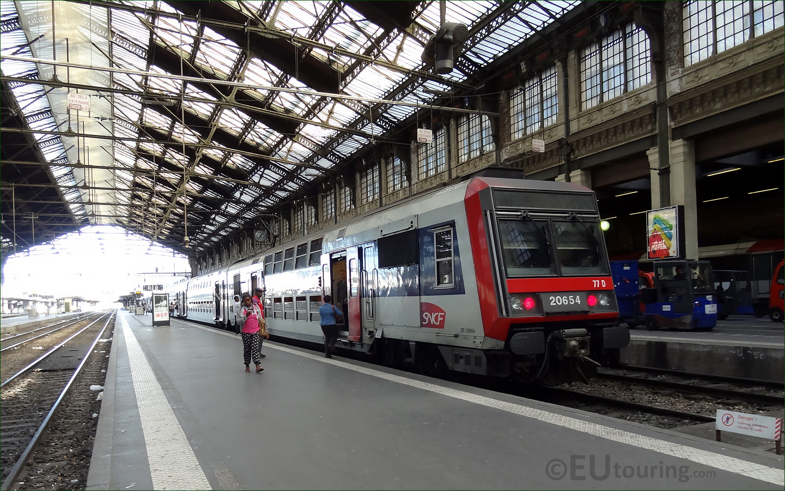 how to travel from paris nord to paris gare lyon