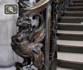 Gare De Lyon Staircase Newel Post