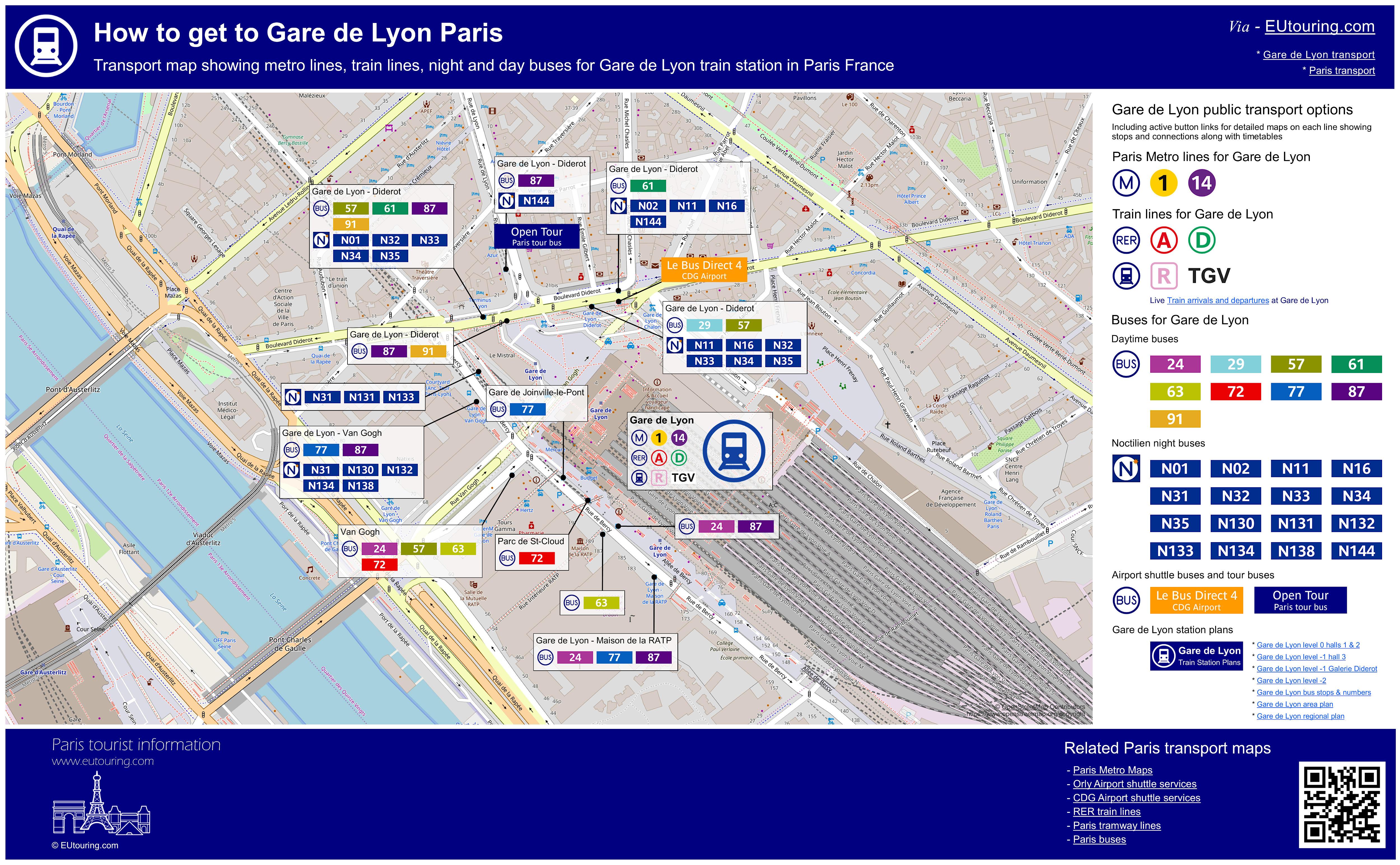 Restaurant Americain Plan De Campagne how to get to gare de lyon in paris using public transport