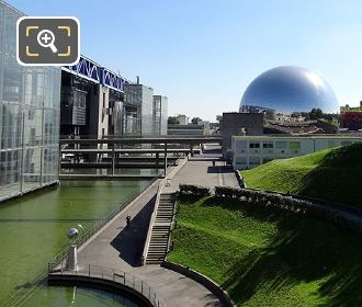 Geode Cinema And Cite des Sciences
