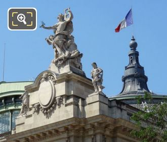 Statues Called Peace On The Grand Palais