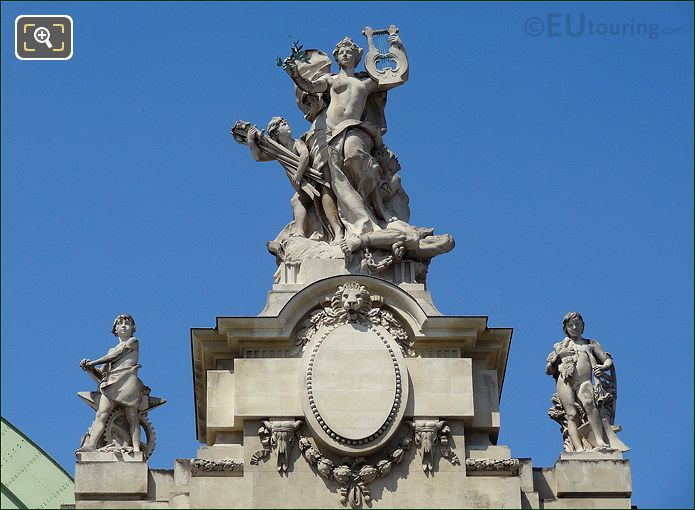 The Grand Palais Statues Called Peace