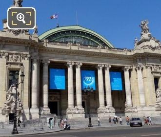 Main Entrance Of The Grand Palais