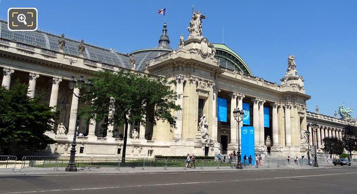The Grand Palais In Paris