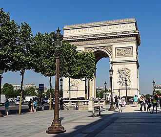 Champs Elysees History