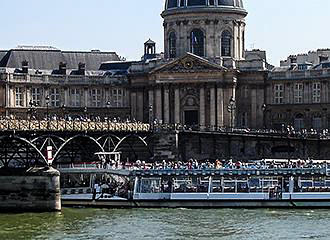 River Seine And The Bateaux-Mouches