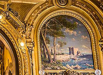 Le Train Bleu Ceilings
